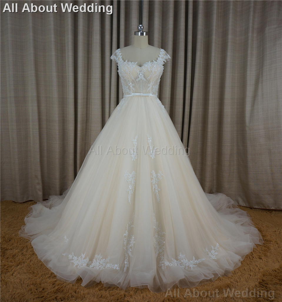 Online Buy Wholesale Champagne Wedding Dress Flowers From China Champagne Wedding Dress Flowers