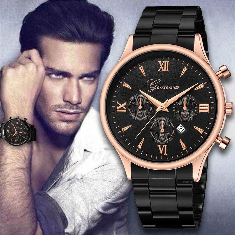 Luxury Stainless Steel Sport Watches Men's Watch Fashion Wrist Watch Men Watch Clock relogio masculino relojes para hombre 5N все цены