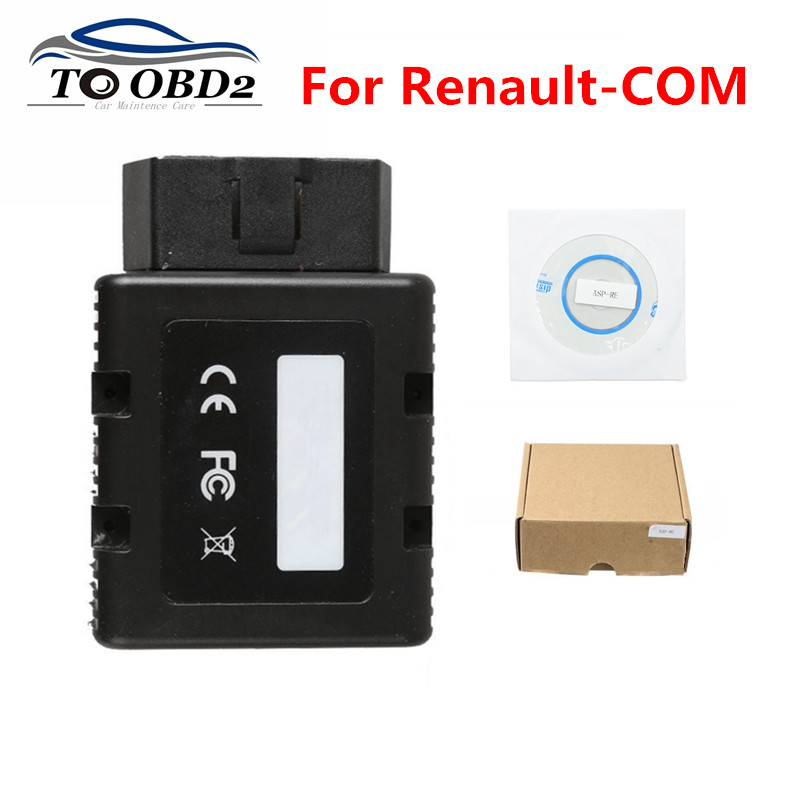 New Arrival For Renault COM Bluetooth Diagnostic Scanner Same As For Renault Can Clip For Renault Com Car Programmer Tool