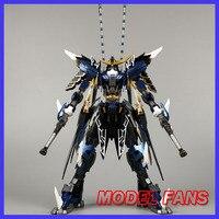 MODEL FANS IN STOCK Devil Hunter Blue Warrior mb Date Masamune GUNDAM VIDAR Alloy Framework action robot figure toy