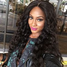 Mimihair Brazilian Glueless  Lace Loose Curl synthetic lace front Wigs 180% Density Brazilian Hair Wigs For Black Women