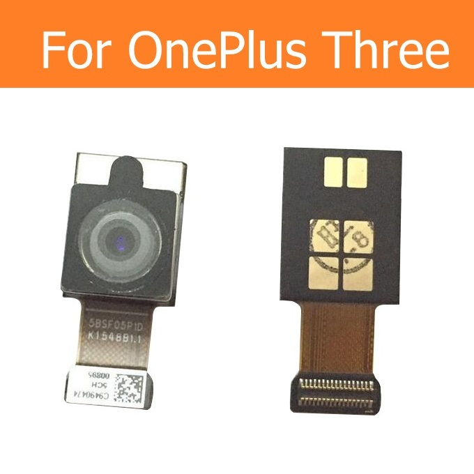 100% Genuine Main Rear Camera For OnePlus Three A3003 Back Camera For Oneplus 3 Big Facing Camera Flex Cable Parts In Stock