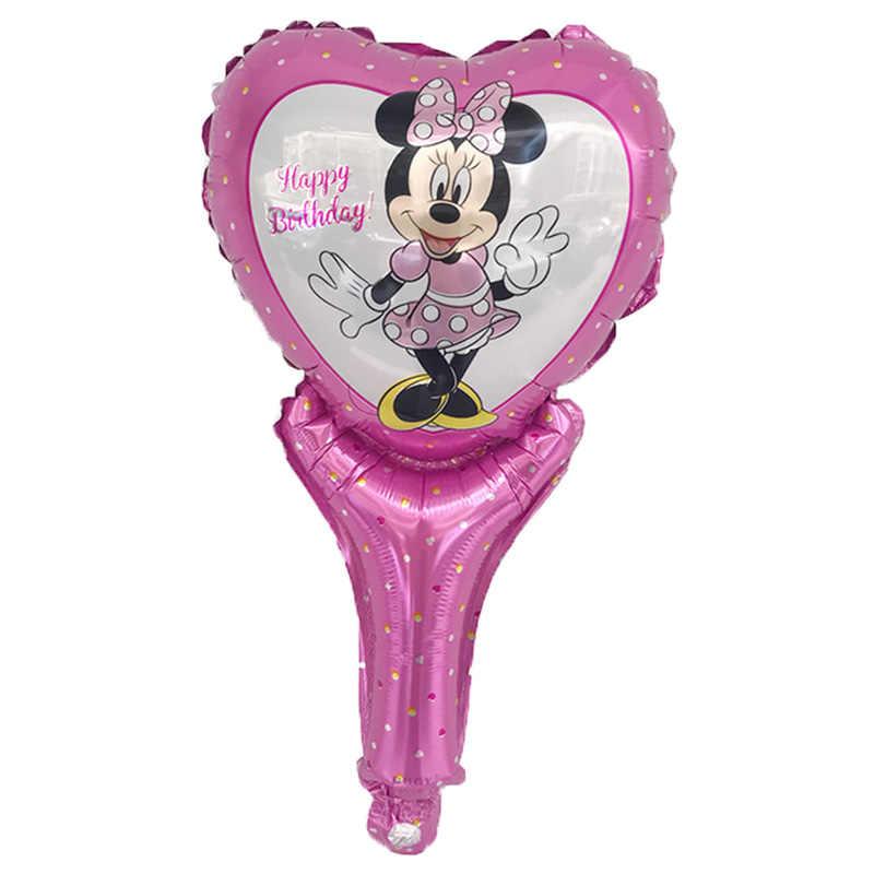 1 PSC/lote todo estilo Mickey Minnie globo helio globo de aire Globos de fiesta de cumpleaños para bebé cumpleaños decoración suministros Globos