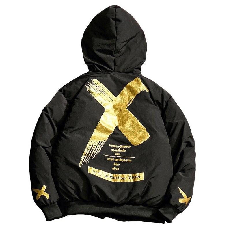 xxxl Hop Mode gold Nous S De D'hiver Hip Veste red Hommes Taille Chaud Femmes Silver Manteaux Z0zqIF7