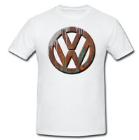 New 2018 Hot Summer Harajuku Funny Rusty Badge T Shirt Beetle Oldschool Car Fans Top Quality Cotton All Sizes Tee Shirt