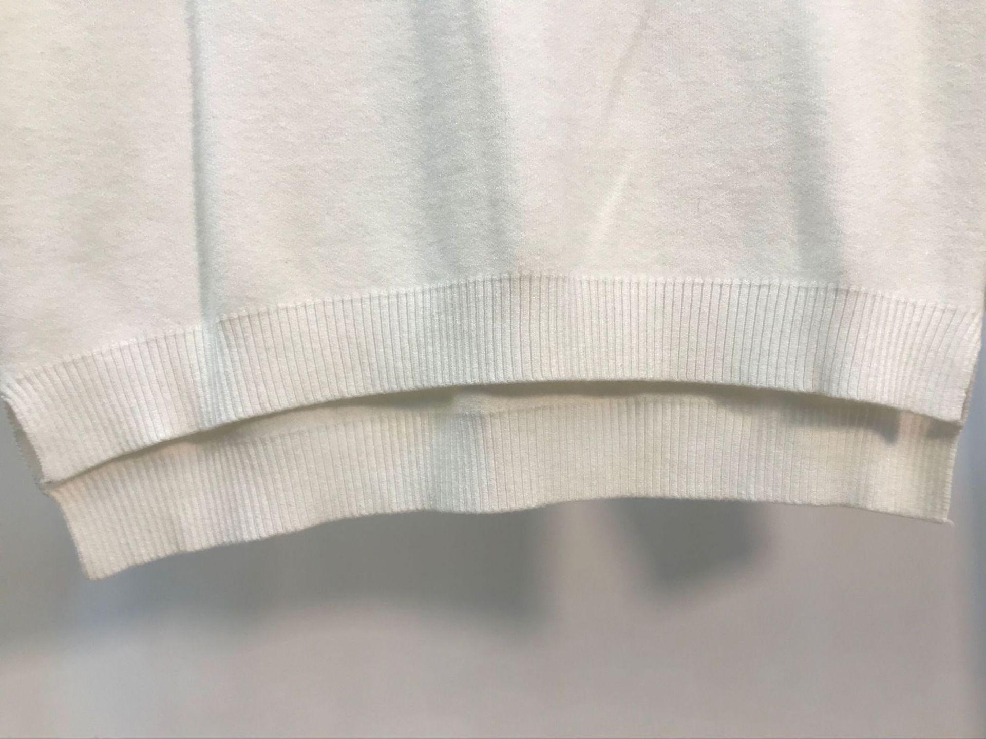 Noir Automne Mode Blanc Lâche Micosoni Tops Dames blanc Beige Chandail De Mince Motif Double Laine Coswoo 2018 Pulls Face Nouveautés wgxxP7E1Sq