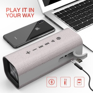 Image 5 - HAVIT Portable Wireless Bluetooth Speaker Stereo big power 10W AUX TF Music Subwoofer Column Speakers for Computer New Gift