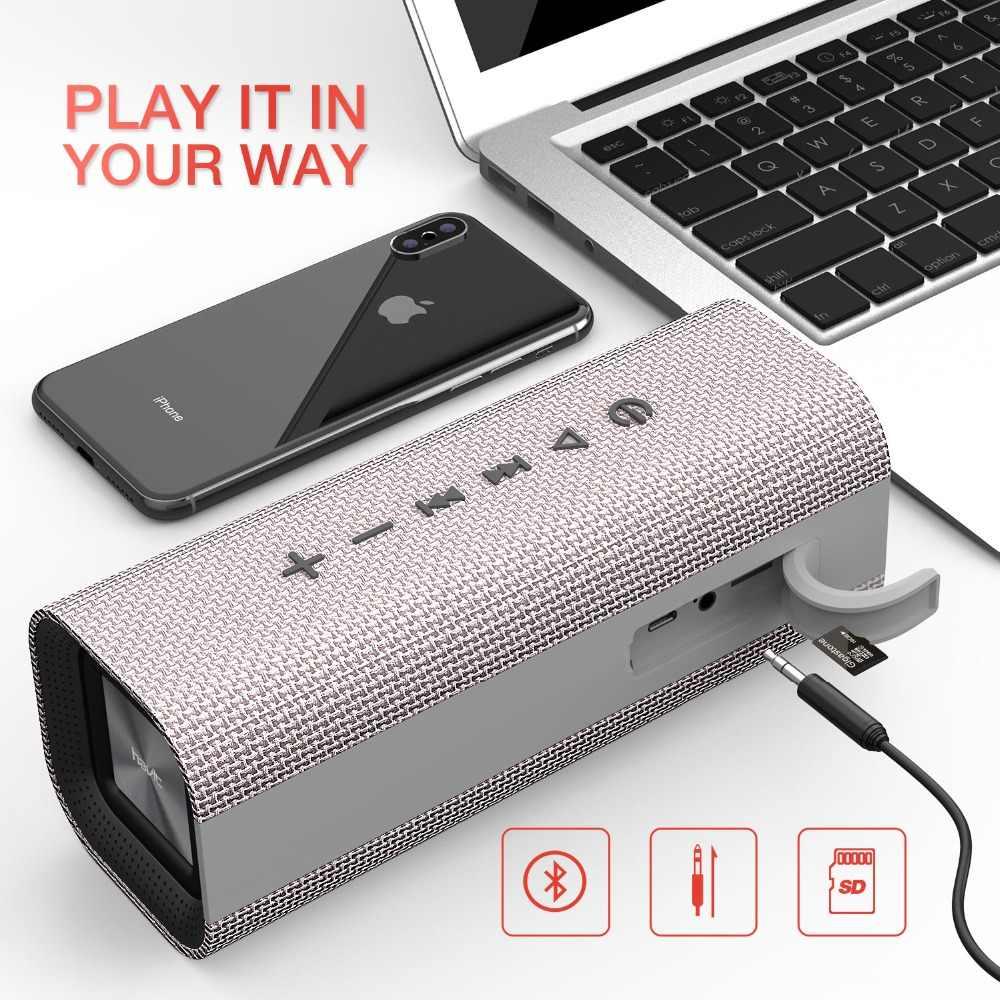Havit portátil sem fio bluetooth alto-falante estéreo grande potência 10 w aux tf música subwoofer coluna alto falantes para computador 2019 novo presente