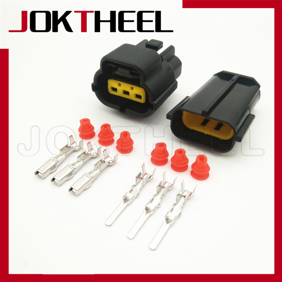 Female Male 20 Set//lot 2P 2.8 Wire Sealed Wire Plug Car Automotive Connectors