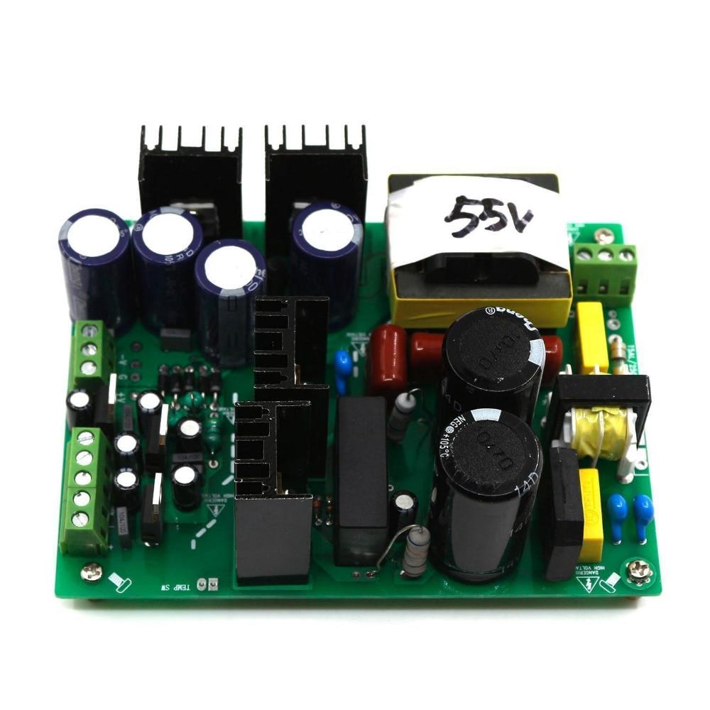Assembled 500W 30V 35V 40V 45V 50V 55V 60V 65V Amplifier Switching Power Supply Board dual