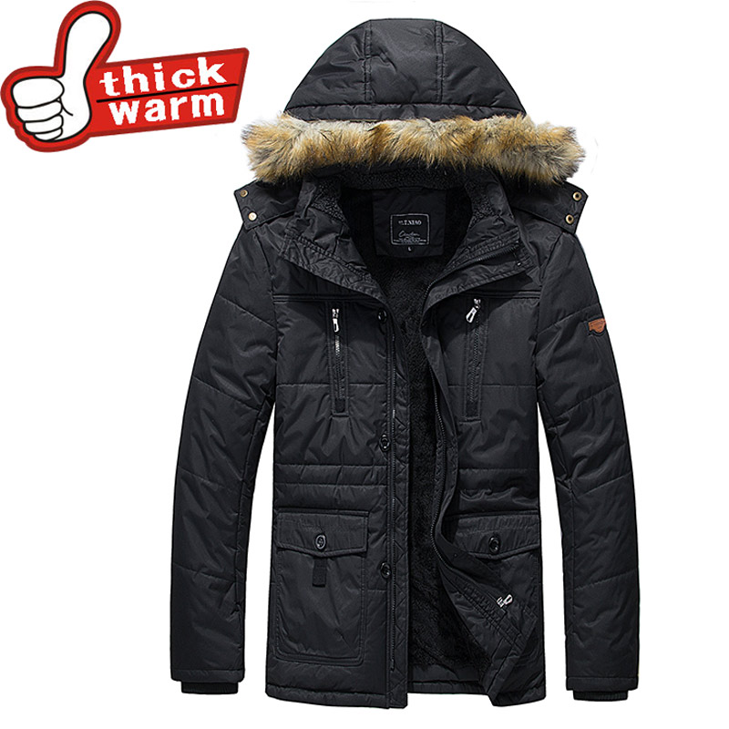 Подробнее о Winter Men Parkas casual 100%Cotton Jackets Man Hooded windproof Thick Warm Outwear Overcoat Wadded Coat brand clothing winter men parkas casual jackets man hooded windproof thick warm outwear overcoat wadded coat brand clothing large size