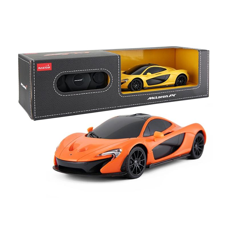 Лицензированный 1/24 RC автомобилей Радиоуправляемые игрушки автомобили на Радио Управление LED Дистанционное управление автомобили Игрушечные лошадки для Обувь для мальчиков McLaren P1 75200