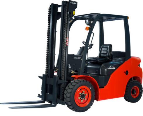 Linde new 2.5t 3t diesel forklift truck 1218 series HT25 HT30 counter balanced forklift 2.5ton 3ton