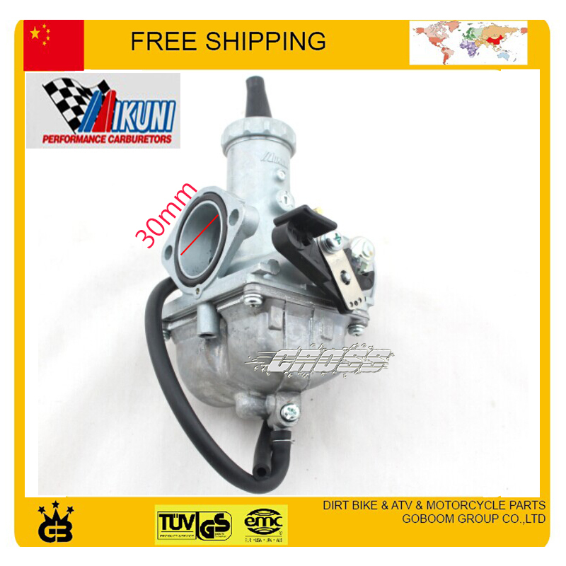 HAND CHOKE 30mm Mikuni Carburetor VM26 PZ30 250cc Dirt bike, Pit Bike, ATV Quad motorycle carburetor free shipping mikuni carburetor vm24 28mm round slide carburetor for 150cc 200cc 250cc atv quad buggy go kar carb free shipping