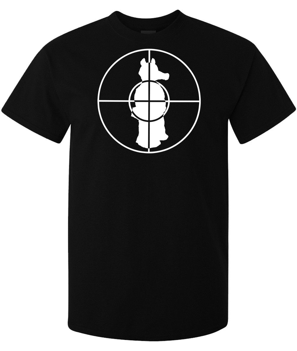Lord Quasimoto White Target Graphic mens (womans available) t shirt black Hot New 2018 Summer Fashion T Shirts