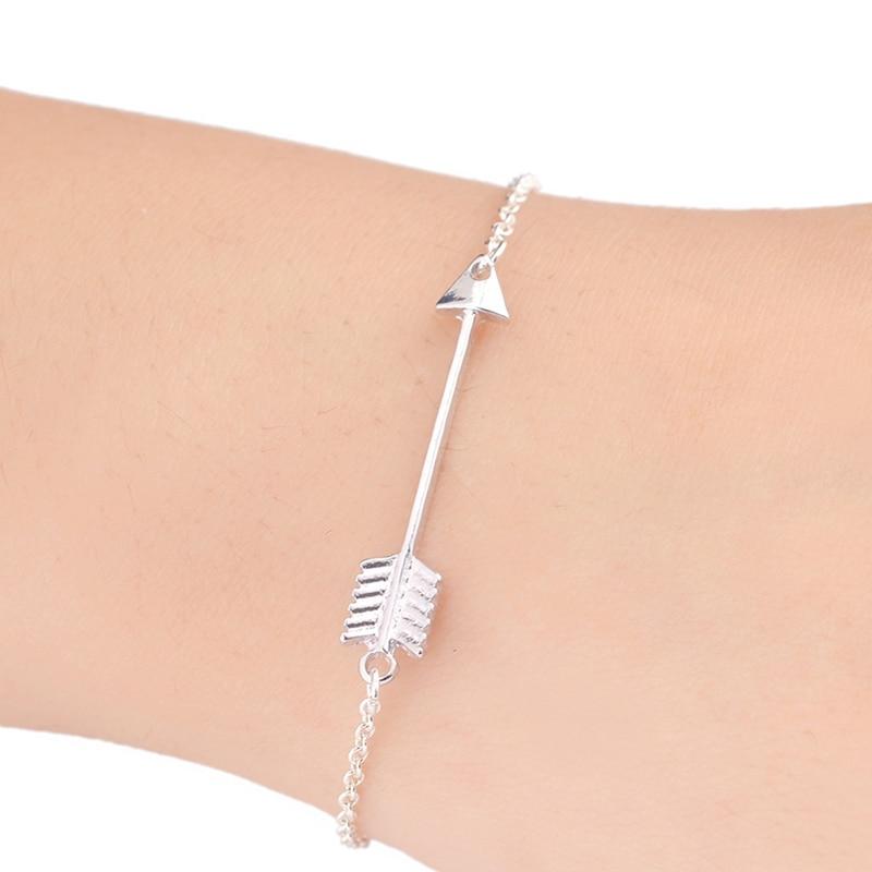 Jisensp Unique One Direction Arrow Charm Bracelets para Mujer - Bisutería - foto 3