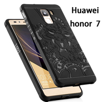 New Arrival Case For Huawei Honor 7 Dragon Patterned TPU Gel Case For Huawei Honor 7