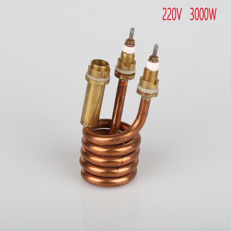 220V 3000W Instant hot water faucet heater heating element,electric heat pipe,tubular element,electrical parts