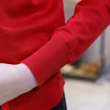 Women Cardigan Knitted Coat Long Sleeve (20 colors) (M- XXL)