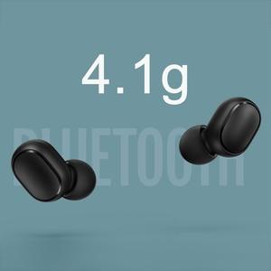 Image 5 - Xiaomi Redmi Airdots TWS Bluetooth イヤホンステレオとのワイヤレスイヤホンマイクハンズフリー Xiaomi イヤホン AI 制御
