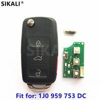 Car Remote Key For 1J0959753DC 5FA009259 30 Beetle CC EOS GTI Golf Passat Jetta Rabbit 2000
