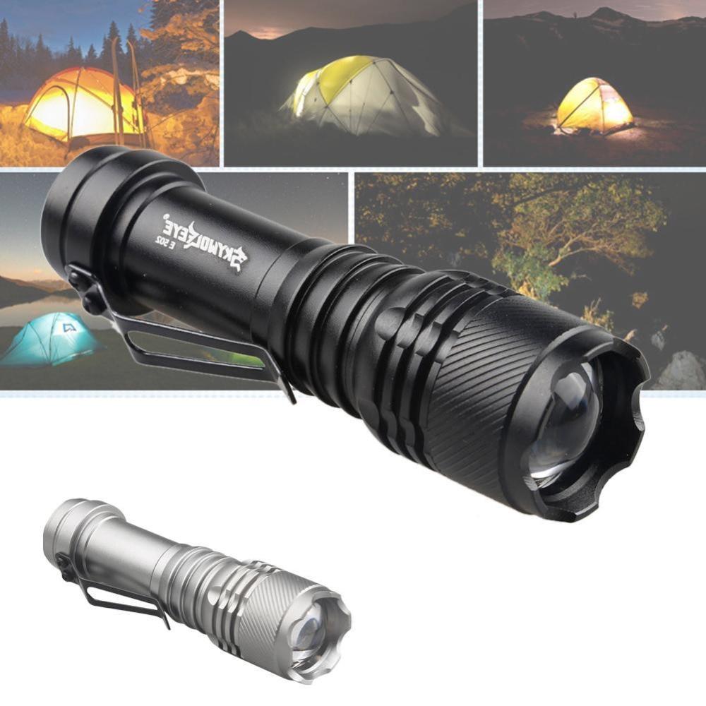 1000 lúmenes Q5 Linterna LED Linterna 3 modos Luz de lámpara - Iluminación portatil