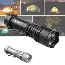 1000 Lumens Q5 LED Flashlight Torch 3 modes Lamp Light Portable Outdoor AA or 14500 Battery