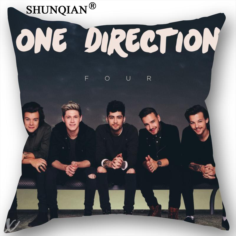 New Nice One Direction Pillowcase Wedding Decorative Pillow Case Customize Gift For Pillow Cover