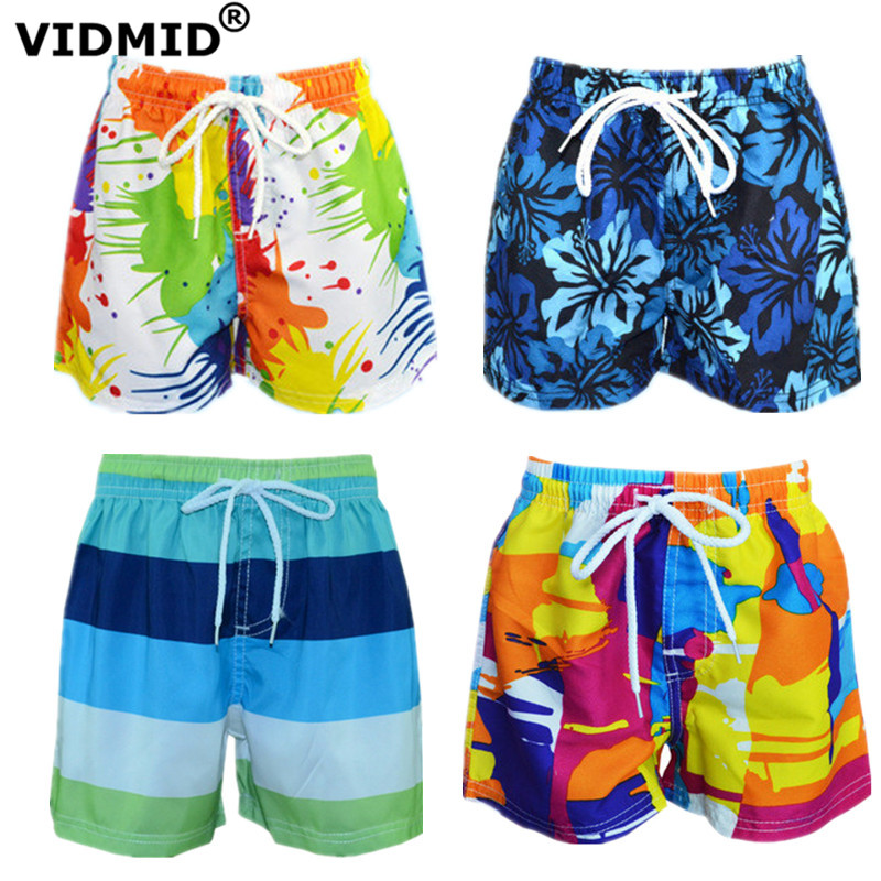 VIDMID 3-14Y boys   shorts   summer teenage big boys swimming   shorts   kids boys beach   shorts   children's pants clothing 7074 01