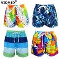 Модные летние шорты для мальчиков-подростков VIDMID, Шорты для плавания, детские пляжные шорты для мальчиков, детские брюки, одежда 7074 01