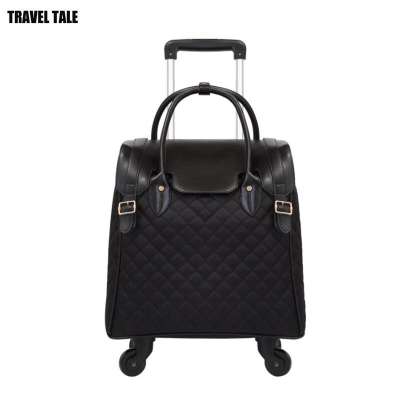 "CARRYLOVE 18 ""بوصة النساء تحمل على السفر عربة المقصورة حقيبة اليد الأمتعة على عجلة-في حقائب سفر بعجلات من حقائب وأمتعة على  مجموعة 1"