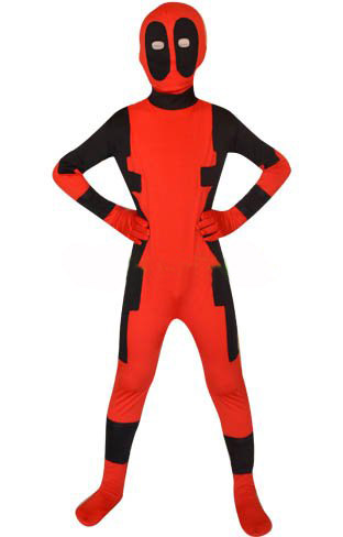 X-men costume kids Deadpool costume kid superhero cosplay costume children halloween costumes Deadpool carnival Zentai custom