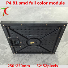 P4.81 full color module  for rental cabinet,can use be as P4, SMD,13scan,43624dot/sqm