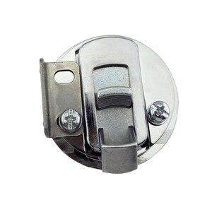 Image 5 - 2 polegadas Pull Trava Chão Levante o Punho Da Liga do Zinco Flush Deck Hatch Deck Fechadura com a Chave