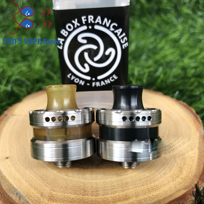 LA Dripper <font><b>RDA</b></font> Atomizer vaper Rebuildable Drops Adjustable with pin BF e-Cigarette Atomizer Tank <font><b>22mm</b></font> vs <font><b>GOON</b></font> 1.5/GEN 25 <font><b>RDA</b></font> image