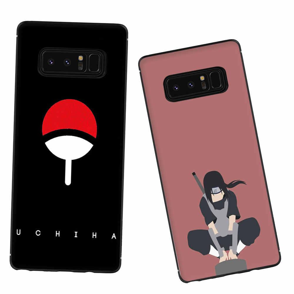 Anime Naruto Caso de Telefone TPU Macio para Galáxia M10 M20 M30 S6 S7 Borda S8 S9 S10 S10e Plus Nota 10 8 9