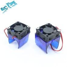 V5 V6 Cooling fan 3D printer parts DIY Reprap Injection Moulded Fan Duct fan housing guard with V5 V6 Cooling Fan