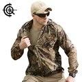 Cqb tactical camuflaje transpirable sol-protective piel chaqueta impermeable al aire libre senderismo chaquetas rompevientos rápido-secos csy0185
