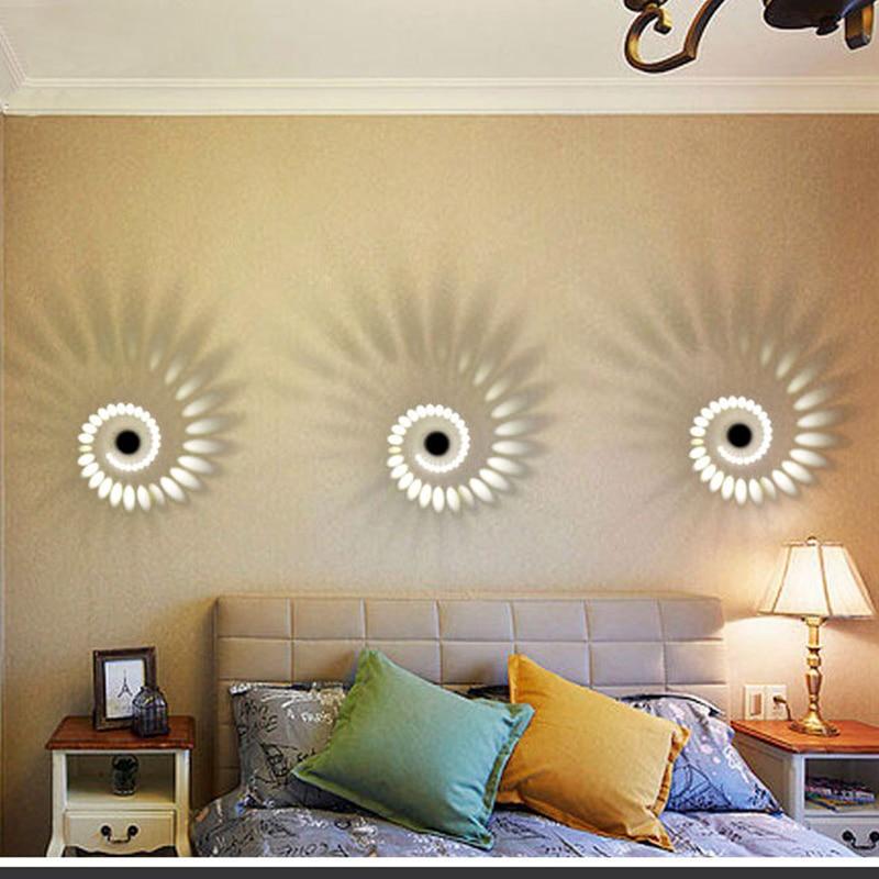 Lâmpadas de Parede parede de alumínio cilindro oco Material do Corpo : Alumínio