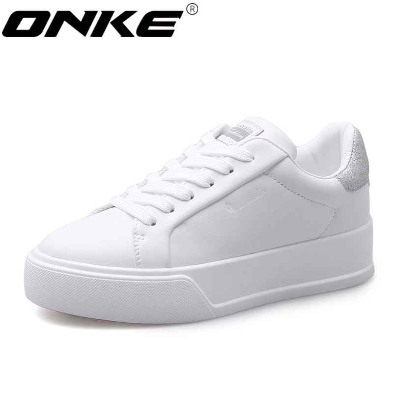 ONKE New listing hot sales Spring and Autumn sneakers  women running shoes white shoes A27