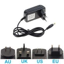 Светодиодный Мощность адаптер 12В трансформатор освещения 5,5 мм * 2,1 мм разъем AC110V 220V постоянного тока до DC12V для светодиодный ленты Драйвер ...