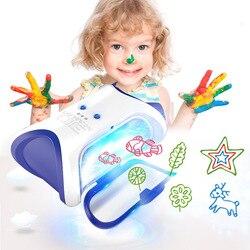 Новое поступление DIY 3D Волшебная машина, принтер, светящийся рисовальный, чертежный, дети, развитие детей, игрушка, подарок, возможность рабо...