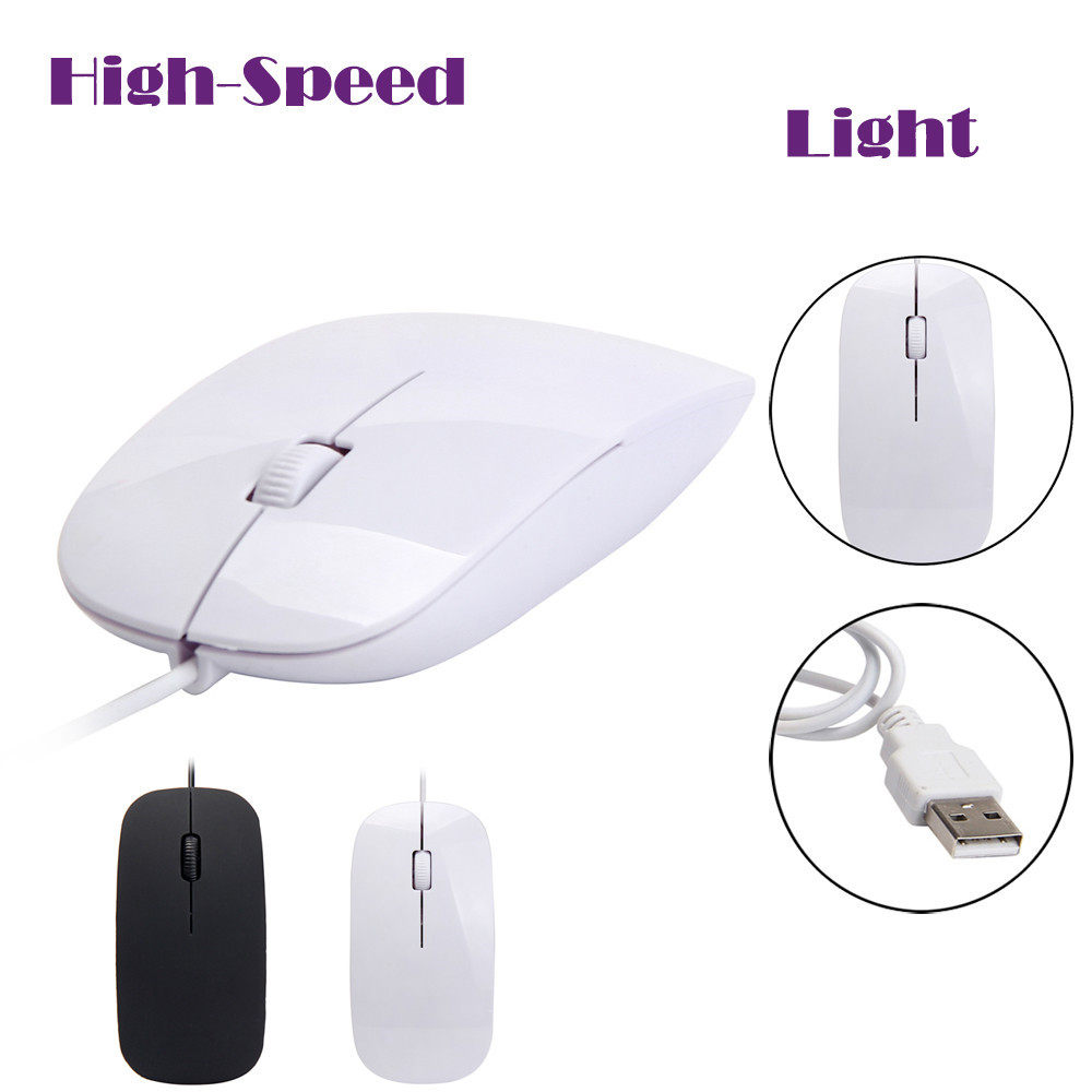 Wired Mouse Computer Gaming Mice Ergonomic Design 1200 DPI USB Wired Optical Gaming Mice Mouse For PC Laptop цены