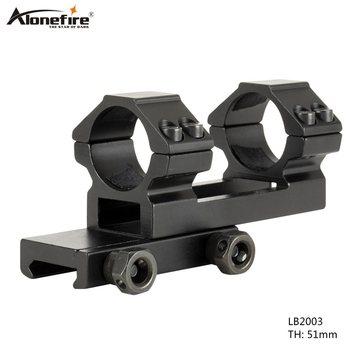 Alonefire lb2003 라이플 옵틱 스코프 마운트 25.4mm 링 마운트 20mm picatinny rail for tactical gun hunting
