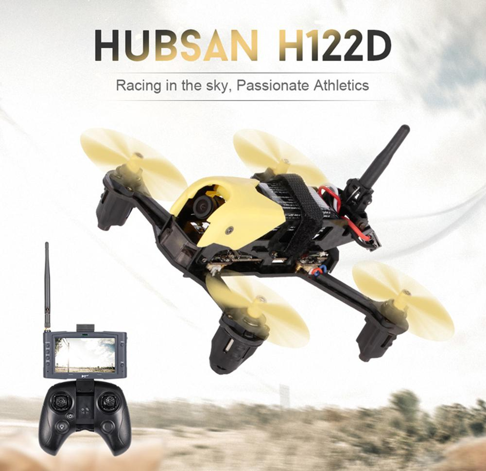 Hubsan H122D X4 5.8G FPV Micro wyścigi dron z aparatem RC Quadcopter z HD 720 P gogle do kamery kompatybilny Fatshark D30 w Helikoptery RC od Zabawki i hobby na  Grupa 1
