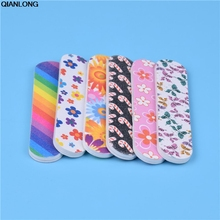 Nail Art Colorful 1pcs Mini Cute Star Flower Dog Image Nails Files Tools Sand Board