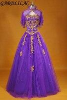 Vestidos de 15 anos Noble Purple Quinceanera Dresses with jacket2017 Sweetheart Organza Quinceanera Gowns beading Applique