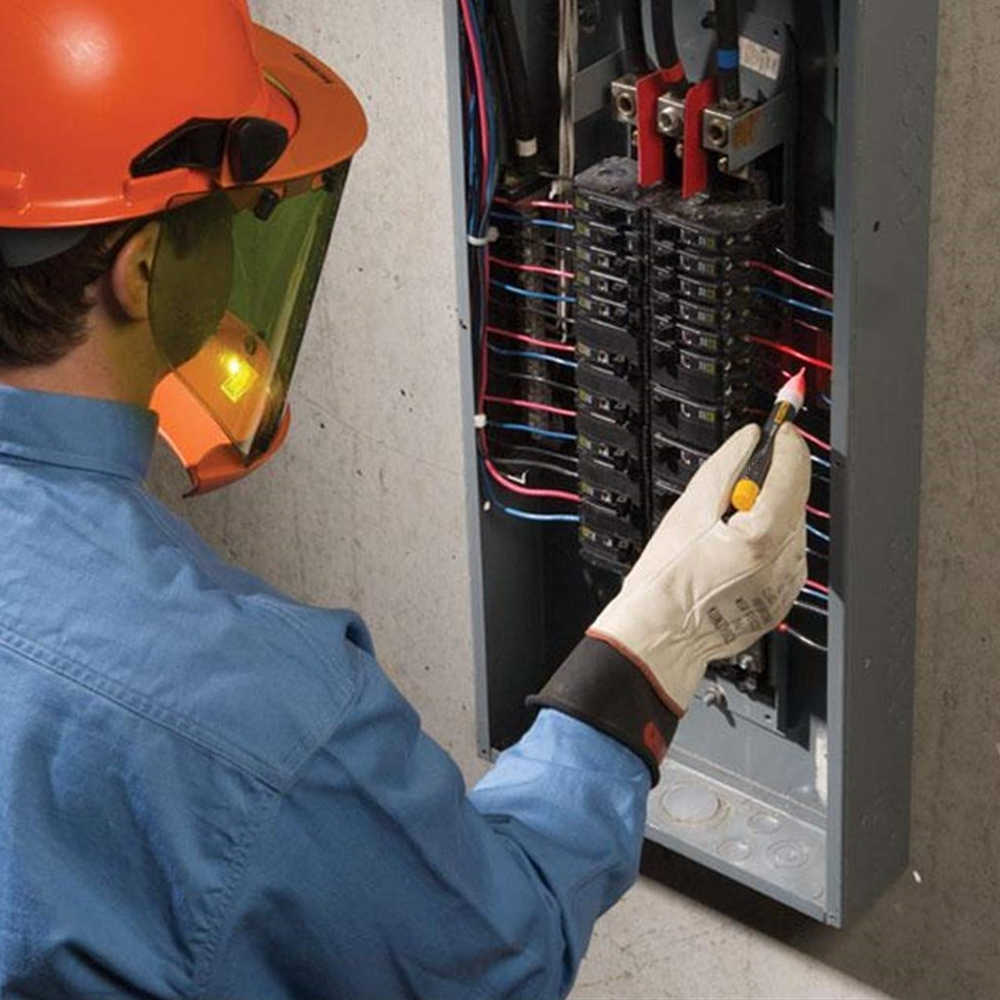 Eléctrica indicador 90-1000V pared toma de alimentación de CA Sensor Detector de voltaje bolígrafo de luz LED
