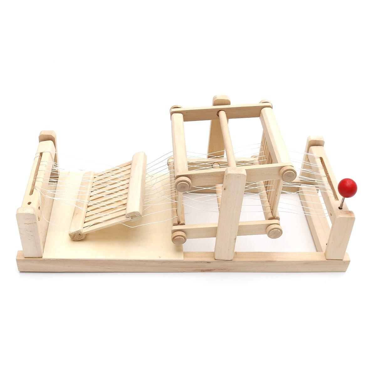 Madera Telar Tradicional China Mano Mesa Modelo De Comprar Máquina P8wOnk0