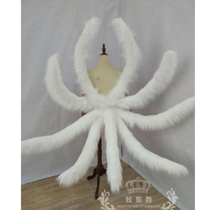 Lol костюмы для косплея сексуальные лисички Лол Ари хвост династии ахри девять